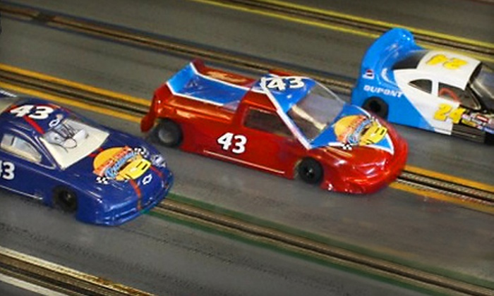 Race City Raceway - Mooresville: Slot-Car Racing for One, Two, or Four at Race City Raceway