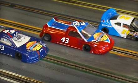 Race City Raceway: 1 Hour of Slot-Car Racing for One - Race City Raceway in Mooresville
