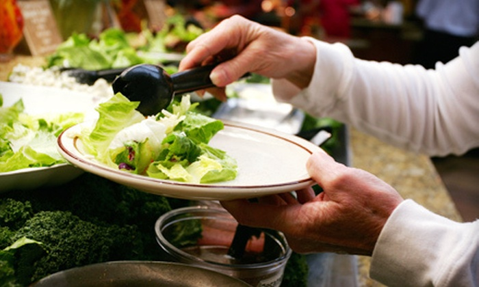 Graze Restaurant - Vista Heights: $22 for Upscale Buffet Fare for Two during Dinner at Graze Restaurant ($43.90 Value)