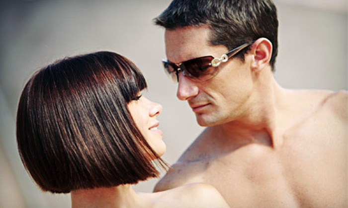 Salon Faded - South Wichita: Men's Haircut Package or Women's Haircut and Coloring Package at Salon Faded in Haysville (Up to 59% Off)