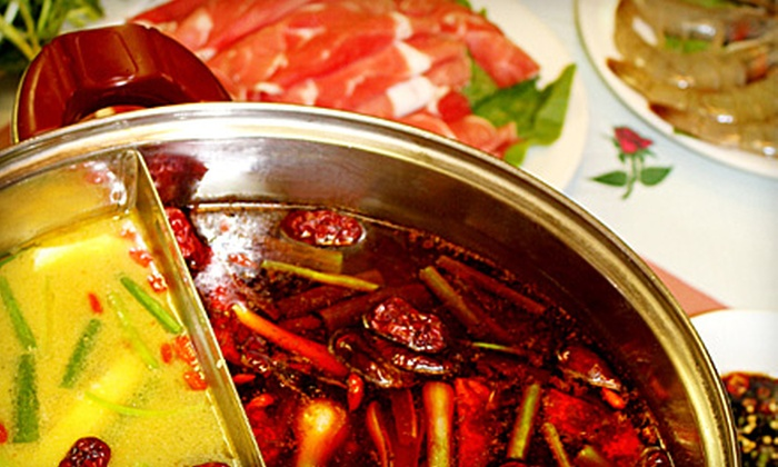 King of Szechuan - Dumbarton: $10 for $20 Worth of Authentic Chinese Cuisine and Hot Pot at King of Szechuan