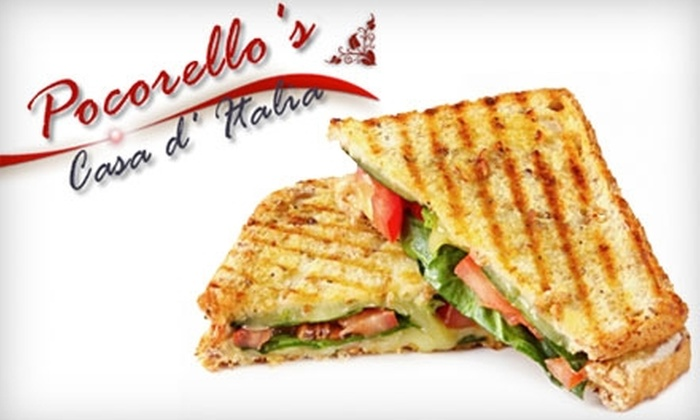 Pocorello's - Shenandoah: $7 for $14 Worth of Sandwiches and Paninis from the Menu or $10 for $20 Worth of Deli and Grocery Items at Pocorello's Italian Grocery & Deli