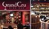 Grand Cru Wine Bar - Northwest Bellevue: $75 for a One-Year Collector's Club Membership at Grand Cru Wine Bar ($150 Value)