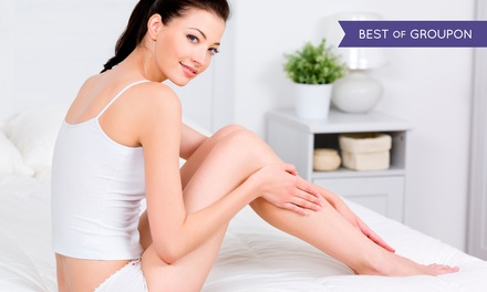 Six Laser Hair-Removal Treatments on a Small, Medium, or Large Area at Miracle Salon & Medi Spa (Up to 92% Off)