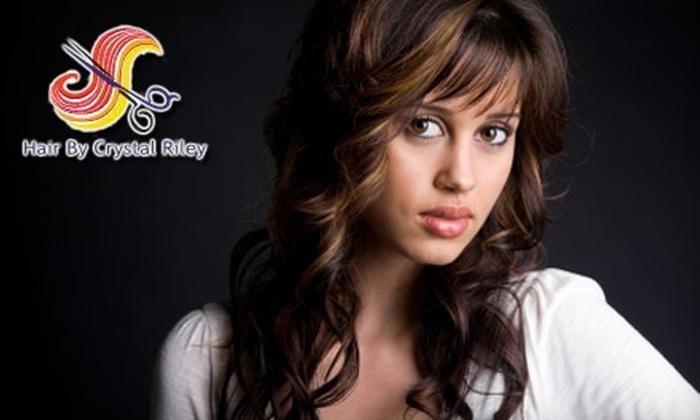 Profile Hair Salon - Remington Park: $35 for a Women's Haircut and Partial Highlights at Profile Hair Salon