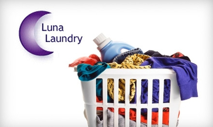 Luna Laundry - Santa Fe: One Month of Personal Laundry Service From Luna Laundry in Santa Fe. Choose From Two Options.