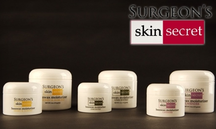 Surgeon's Skin Secret Products: $15 for $35 Worth of Surgeon's Skin Secret Products from Jamark Laboratories