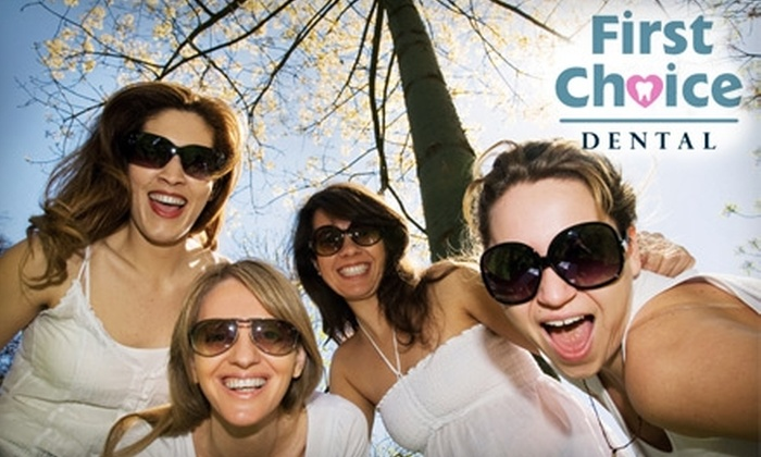 First Choice Dental - Multiple Locations: $89 for a Take-Home Teeth-Whitening Treatment from First Choice Dental ($244 Value). Available at Ten Locations.