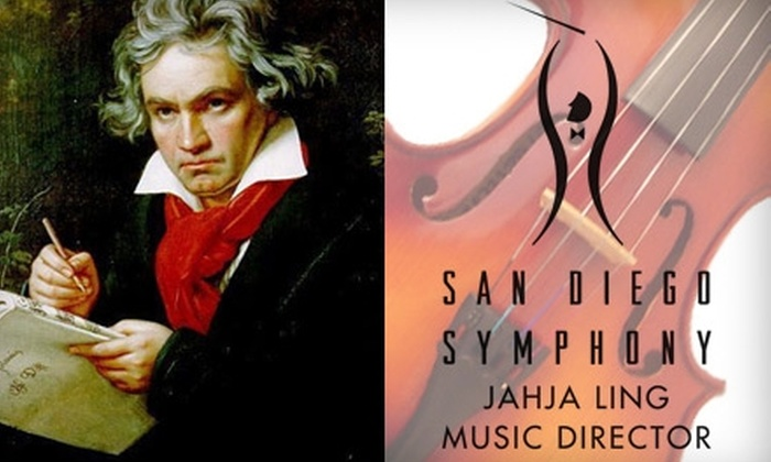 San Diego Symphony  - San Diego: $18 Ticket to the San Diego Symphony's Beethoven Festival Concerts ($37 Value). Choose from Two Performances.