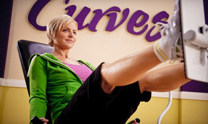 Curves - Multiple Locations: $25 for a One-Month Membership and Two Zumba Classes at Curves in Kingston ($58 Value)