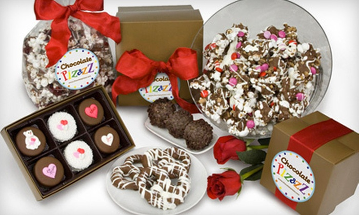 Chocolate Pizazz - Hedwig Village: $5 for $10 Worth of Chocolate-Dipped Strawberries, Pretzels, Cookies, and Holiday-Themed Treats at Chocolate Pizazz