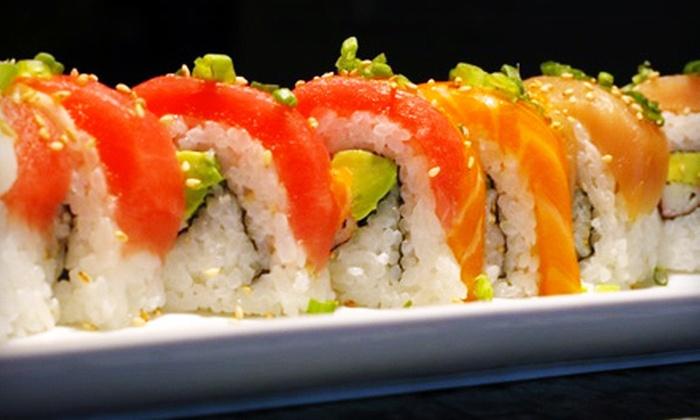 Kamon Sushi - Central Sacramento: $10 for Japanese Fare and Drinks at Kamon Sushi