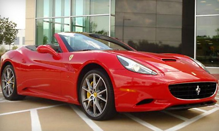 Imagine Lifestyles - Multiple Locations: $139 for a One-Hour Driving Experience in a Ferrari, Aston Martin, Bentley, or Lamborghini from Imagine Lifestyles ($389 Value)