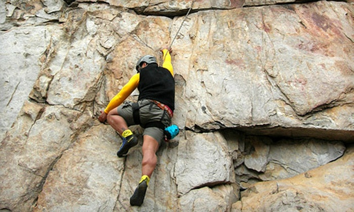 Charlotte Outdoor Adventures - Multiple Locations: Rock-Climbing and Rappelling Class for One or Two from Charlotte Outdoor Adventures in Gastonia (Up to 53% Off)