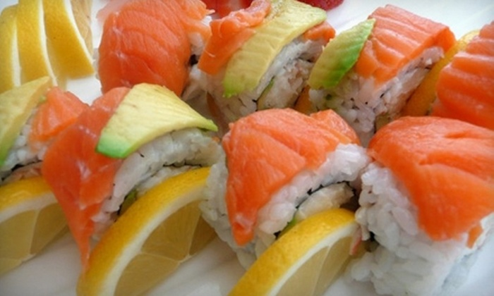 Wasabi Sushi Restaurant - Draper: $12 for $25 Worth of Japanese Dinner Fare at Wasabi Sushi Restaurant in Draper (or $7 for $15 Worth of Lunch)