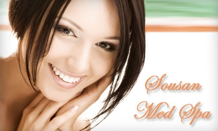 Sousan Med Spa & Skin Care - Houston: Salon & Spa Services at Sousan Med Spa & Skin Care. Choose between Two Options.
