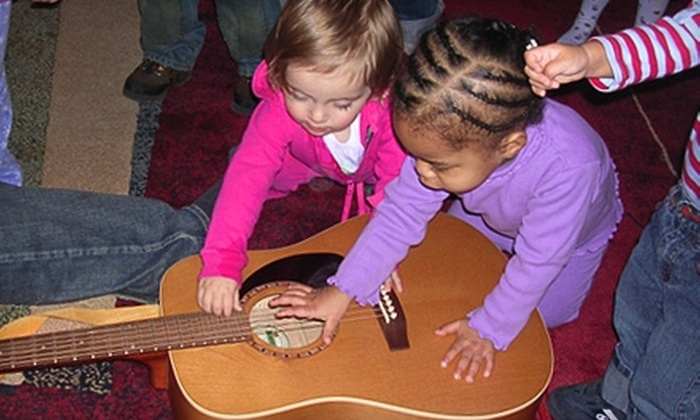 Music for Aardvarks and Other Mammals - Natick: $18 for Three Classes for Children at Music for Aardvarks and Other Mammals in Natick (Up to $55.50 Value)