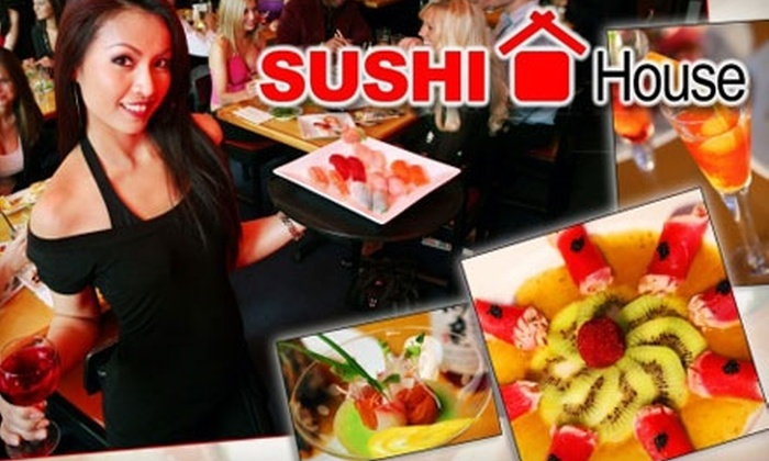 Sushi House - Florida Mall: $15 for $30 of Japanese Fare and Drinks at Sushi House