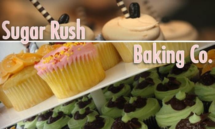 Sugar Rush Baking Company - Junction: $15 for Two Dozen Assorted Miniature Cupcakes at Sugar Rush Baking Company ($30 Value)
