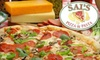 Sal's Pizza & Pasta - Pleasantville: $7 for $15 Worth of Pizza, Calzones, and More at Sal's Pizza & Pasta