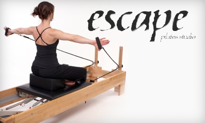 Escape Pilates Studio - Orange County: $50 for Five Pilates Reformer Group Classes at Escape Pilates Studio in Costa Mesa