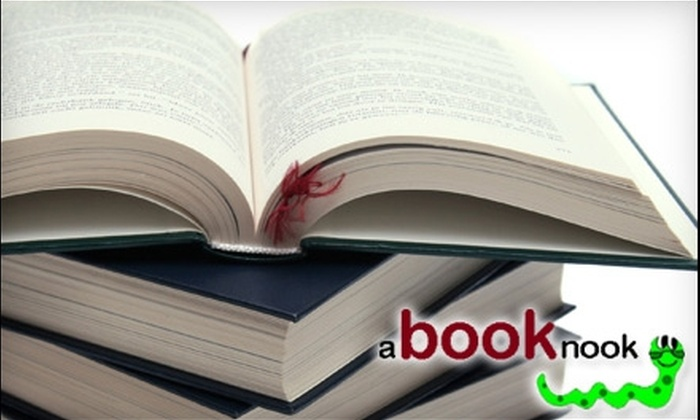 A Book Nook - Cincinnati: $5 for $10 Worth of Used Books at A Book Nook in West Chester
