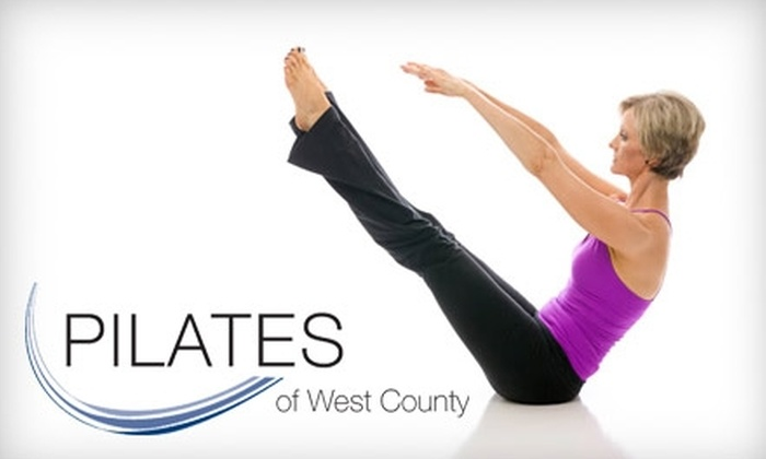 Pilates of West County - Chesterfield: $60 for Six Pilates Mat Classes at Pilates of West County in Chesterfield