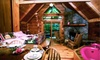 Creekwalk Inn and Cabins - Cosby, TN: Two-, Three-, or Four-Night Honeymoon Deluxe Cabin Package at Creekwalk Inn and Cabins in Cosby (Up to 54% Off)