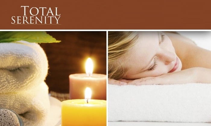Total Serenity Day Spa - Fitler Square: $75 for a Waxing Service Plus a One-Hour Massage at Total Serenity Day Spa (Up to $150 Value)