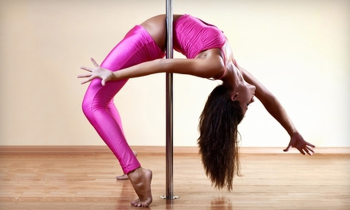 Studio 3sixT - Denver: $15 for Two Pole or Dance Fitness Classes at Studio 3sixT (Up to $40 Value)