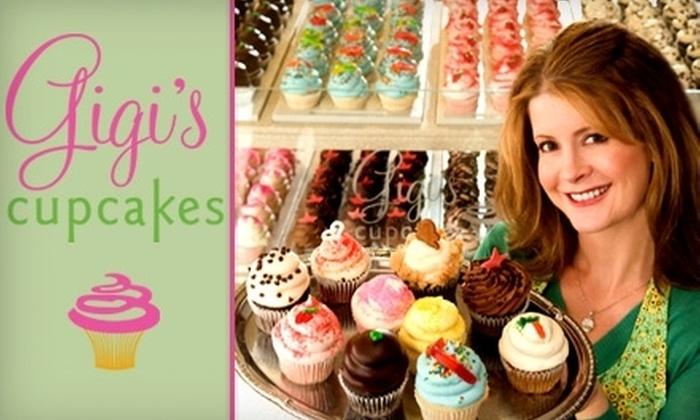Gigi's Cupcakes - The Strip: $18 for a Dozen Cupcakes at Gigi's Cupcakes ($36 Value)