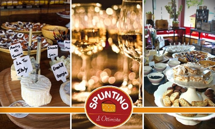 Spuntino - Cow Hollow: $15 for $30 Worth of Cheese, Wine, and Gourmet Italian Groceries at Spuntino