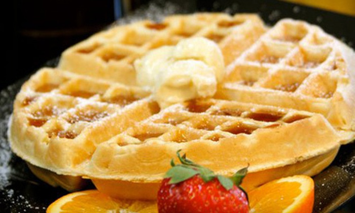 The Waffle Gourmet - Rue Vallee: $5 Toward Savory and Sweet Waffles