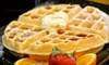 The Waffle Gourmet - Pepper Tree,Rue Vallee: $5 Toward Savory and Sweet Waffles