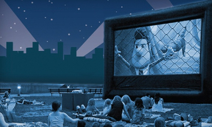 FunFlicks Outdoor Movies - Detroit: $119.99 for an Outdoor Movie, TV, or Video-Game Viewing-Party Rental from FunFlicks Outdoor Movies ($369.94 Value)