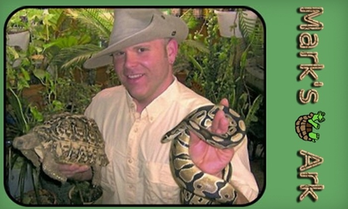 Mark's Ark - Fort Wayne: $75 for a One-Hour Animal Show from Mark's Ark ($150 Value)
