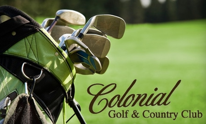 Colonial Golf and Country Club - Harahan: Golf at Colonial Golf & Country Club. Choose from Two Options.