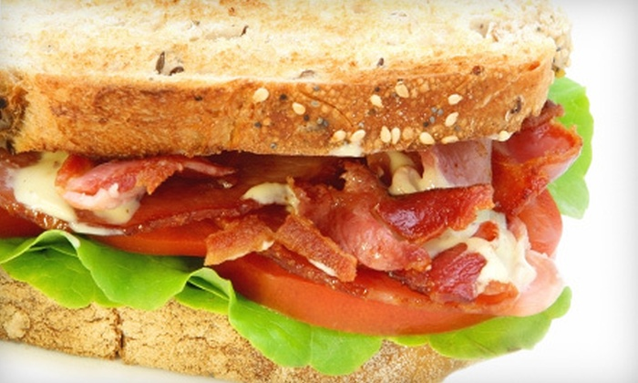 The Crooked Mile - Downtown,Willard Square: $5 for $10 Worth of Café Fare at The Crooked Mile
