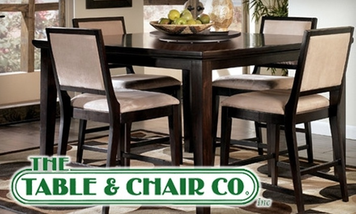 The Table & Chair Co. - Westminster: $50 for $200 Worth of Furniture at The Table & Chair Co.