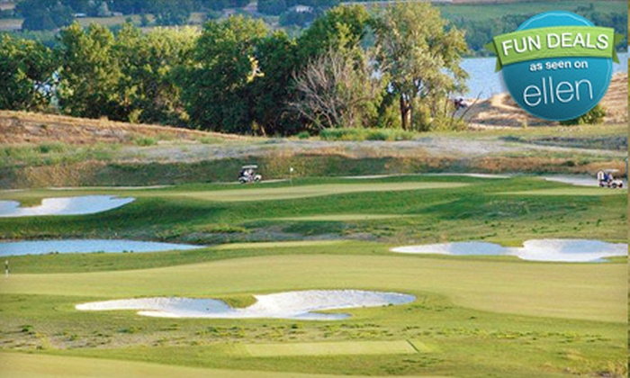 Hunter's Point Golf Club - Nampa: Golf Outing with Cart for Two People on a Weekday, Weekend, or Holiday at Hunter's Point Golf Club (Half Off)