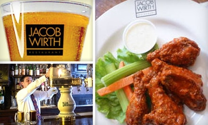 Jacob Wirth - Chinatown / Leather District: $9 for $20 Worth of German Fare at Jacob Wirth Restaurant