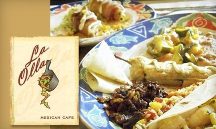 La Olla Mexican Café - Marana: $7 for $15 Worth of Mexican Cuisine and Drinks at La Olla Mexican Café