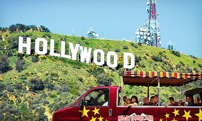 Hollywoodland Tours - Hollywood: Hollywood and Sign Tour for One, Two, Four, or Six from Hollywoodland Tours (Up to 59% Off)