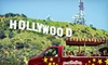 Hollywoodland Tours, Inc - Hollywood: Hollywood and Sign Tour for One, Two, Four, or Six from Hollywoodland Tours (Up to 59% Off)