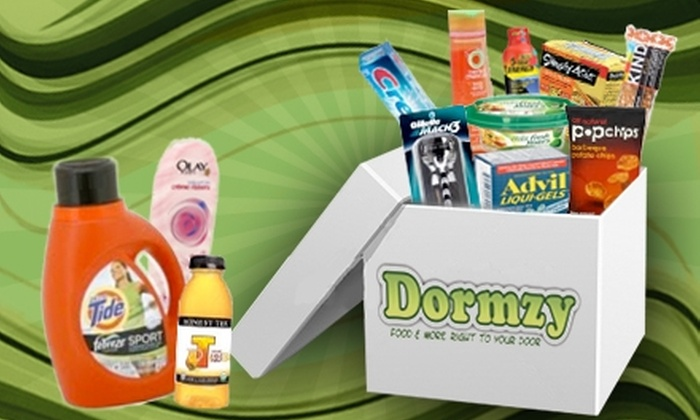 Dormzy: $16 for $35 Worth of Delivered Groceries from Dormzy