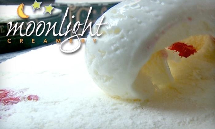 Moonlight Creamery - Fairport: $5 for $10 Worth of Desserts and More at Moonlight Creamery in Fairport