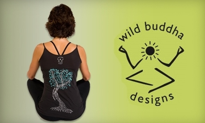 wild buddha designs: $15 for $30 Worth of Yoga Apparel from wild buddha designs
