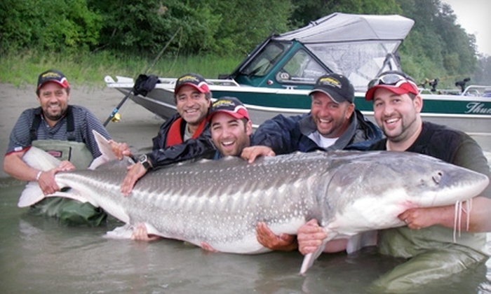 Great River Fishing Adventures - Chilliwack Proper Village West: Four-Hour Sturgeon and Fly-Fishing Day Trips from Great River Fishing Adventures