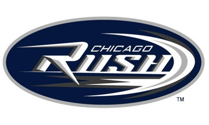 Chicago Rush - Rosemont: $25 for One Chicago Rush Arena Football T-Shirt and One Lower-Level Sideline Ticket vs. Utah Blaze on Friday, April 23, at 7:30 p.m. ($50 Value). Click Below for Saturday, June 26, at 7 p.m. vs. Orlando Predators.