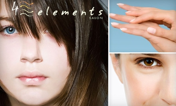 4 Elements Salon - Goose Island: $30 for $60 Worth of Salon Services at 4 Elements Salon